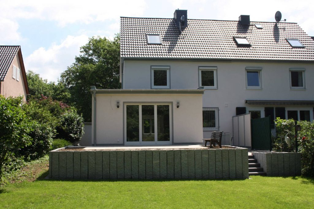 Sanierung eines Einfamilienhauses, Bauplanungsbüro Michael Höpner