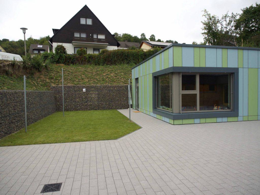 Umbau Kindergarten, Bauplanung Höpner