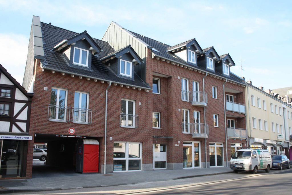 Neubau Mehrfamilienhaus in Rheinbach, Bauplanung Höpner