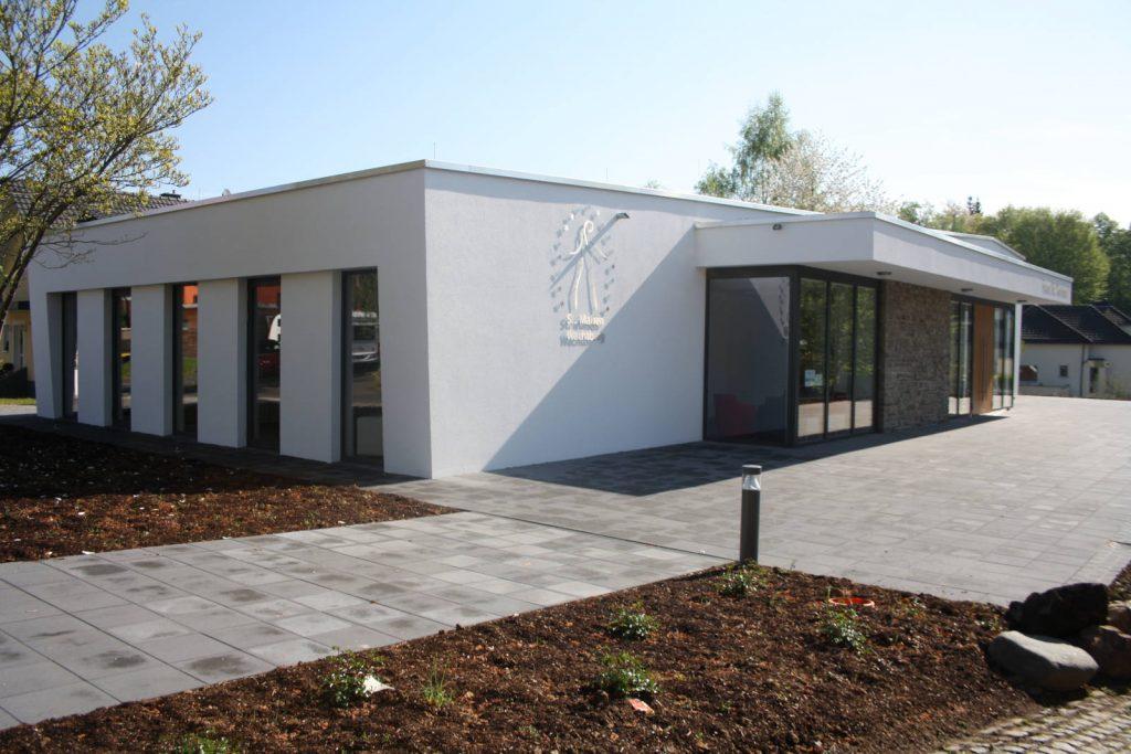 Neubau Pfarrheim in Niederbachem, Bauplanung Höpner
