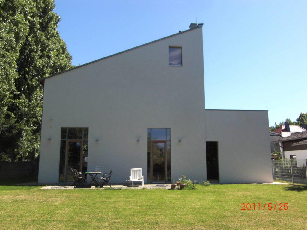 Umbau Schreinerei zu Wohnhaus, Bauplanung Höpner